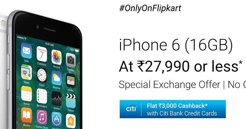 Iphone 6 16gb At Rs 27 990 Or Less Special Exchange