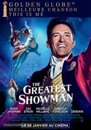 The Greatest Showman 2017 HC HDRip 300Mb English 480p Watch Online Full Movie Download Worldfree4u 9xmovies