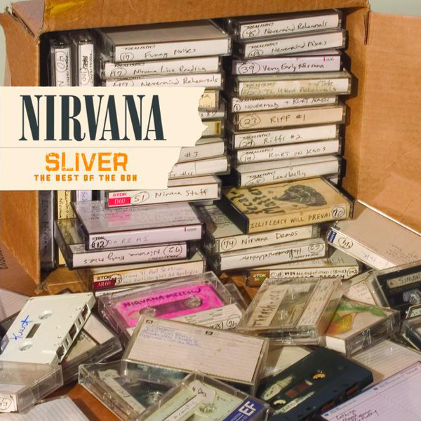 Nirvana - Sliver - The Best of the Box Cover
