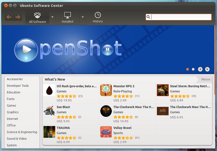 20 Most Highly Rated Applications to Install from Ubuntu