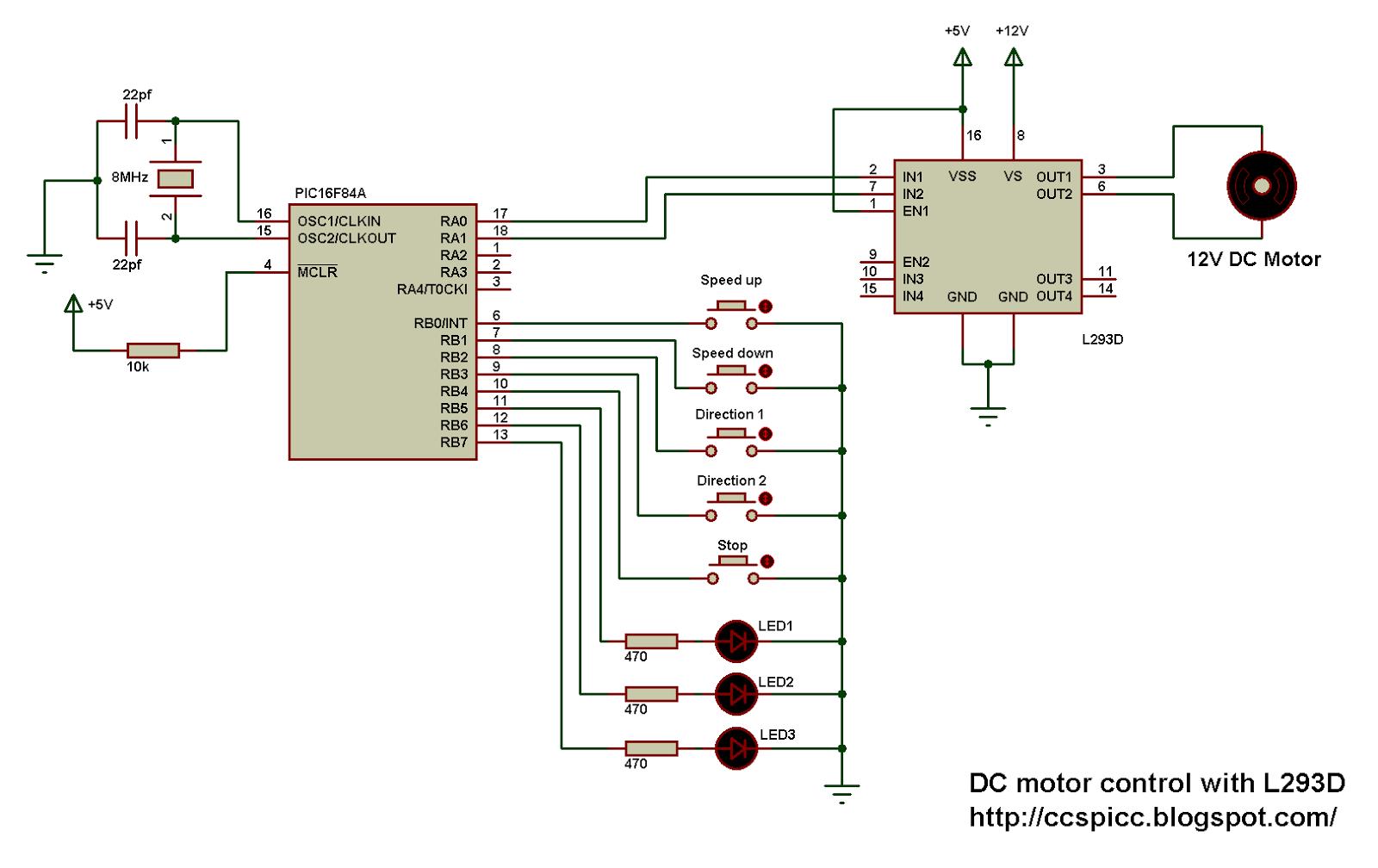 Dc Control For Triacs Diagram Schematic