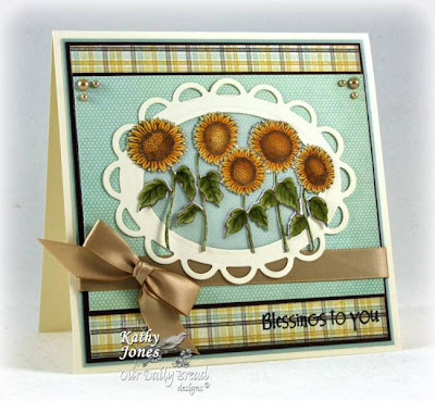 Our Daily Bread designs Harvest Blessings designer Kathy Jones