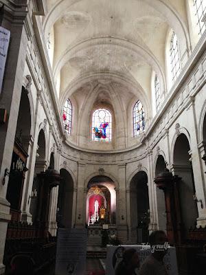 Un día en La Rochelle catedral