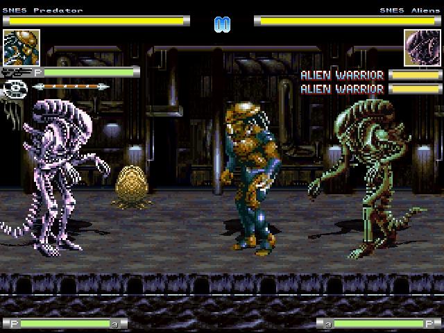 snes alien vs predator