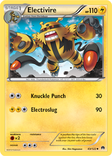 Electivire BREAKpoint Pokemon Card