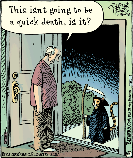 Bizarro: This isn't going to be a quick death, is it?