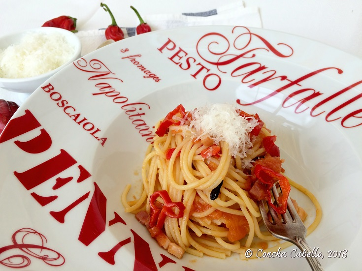 spaghetti-amatriciana-plato
