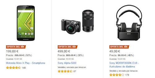 Mejores Ofertas diarias y Flash de Amazon del 02/03/17