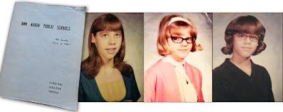 Collage of Norma, Brenda, Sandy Jr High
