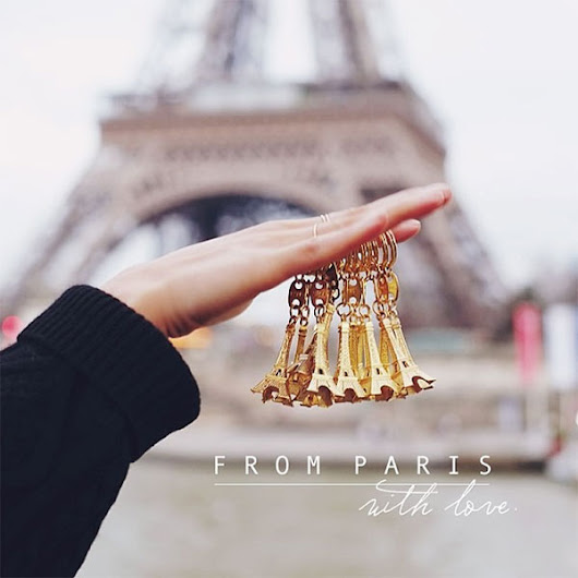 City postcards : Paris is my favorite thing