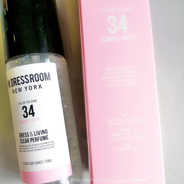 W.Dressroom Dress & Living Clear Perfume No. 34 Always Happy