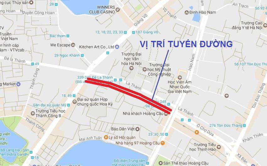 Hà Nội triển khai làm con đường lớn song song với Đê La Thành