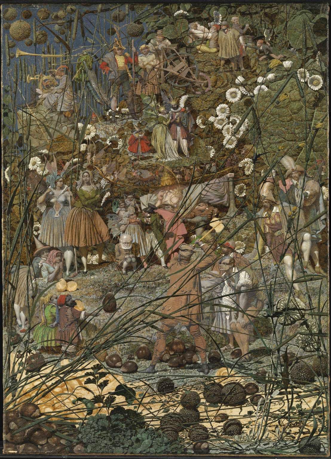 Richard Dadd, El golpe maestro del leñador de las hadas-The Fairy Feller's Master Stroke (1855-1864), Tate Gallery, Londres