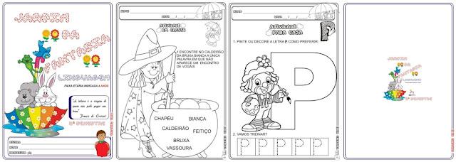 Caderno Linguagem Jardim da Fantasia 2º Semestre  (Faixa Etária 4 Anos)