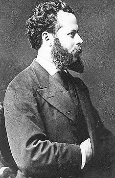 Foto de Nicolás de Piérola con su mano debajo del saco