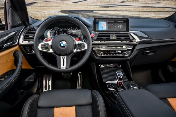 BMW X3 M Competition Interior