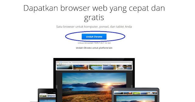 Unduh Chrome Laptop