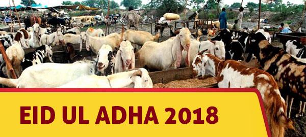 When is Eid al Adha 2018?
