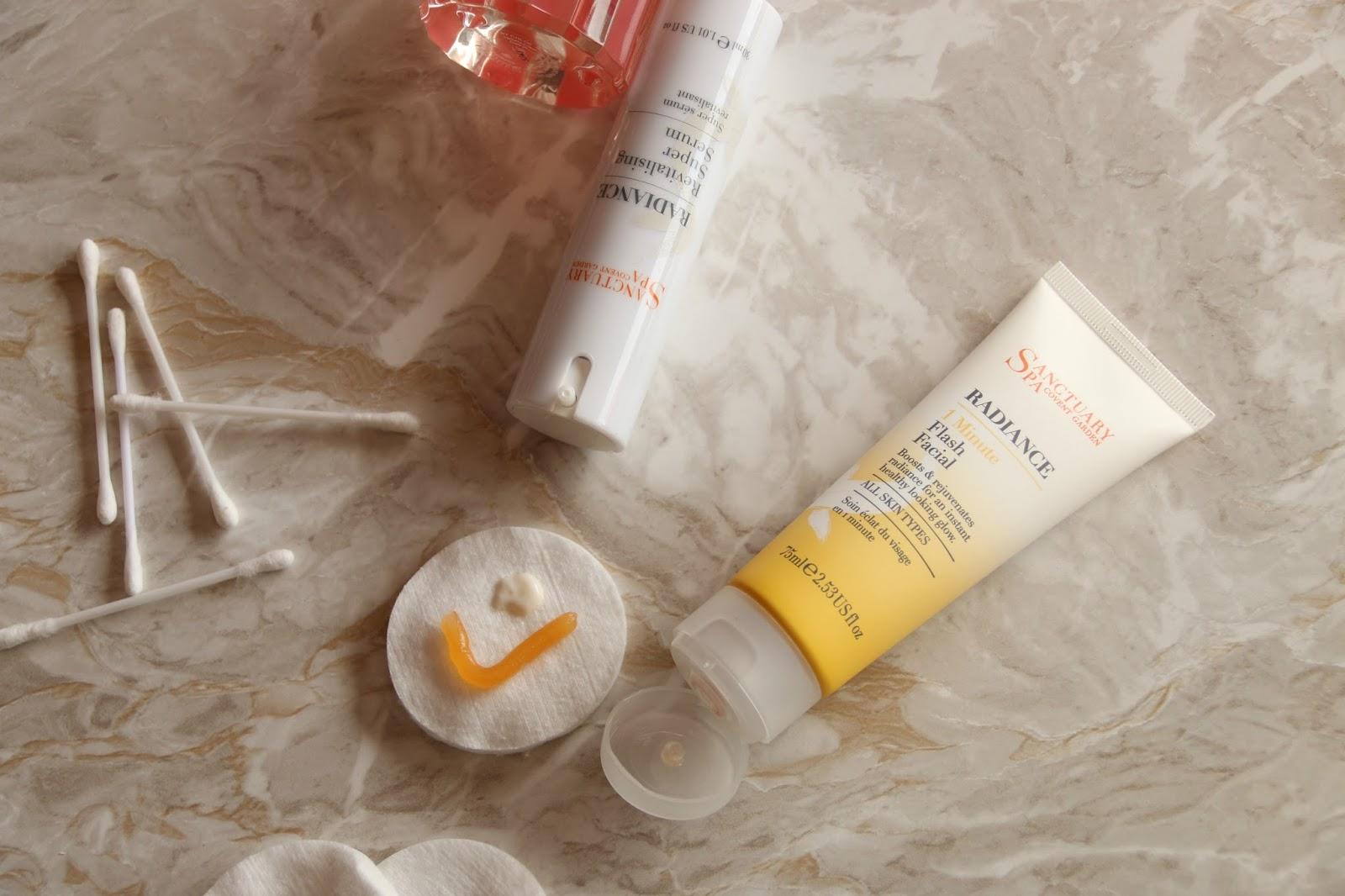 Sanctuary Spa Radiance 1 Minute Flash Facial Revitalising Super Serum