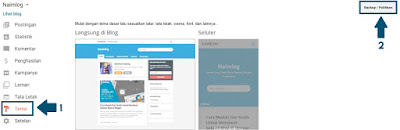 Cara Mengubah Template Atau Tema Dari Blog Di Blooger