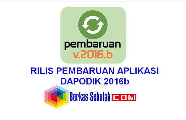 RILIS PEMBARUAN APLIKASI DAPODIK 2016b