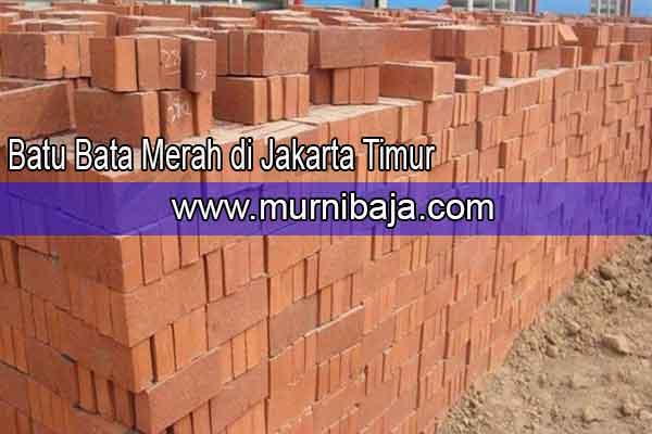 Harga Batu Bata Merah Jakarta Timur