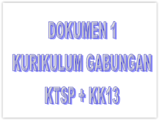 DOKUMEN 1 KURIKULUM GABUNGAN KTSP DAN KURIKULUM 2013