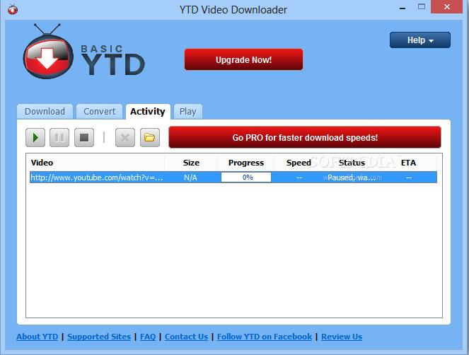 YTD Video Downloader Software 2018