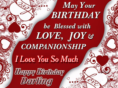 Happy Birthday Wishes And Quotes For the Love Ones: may your birthday be blessed with love,