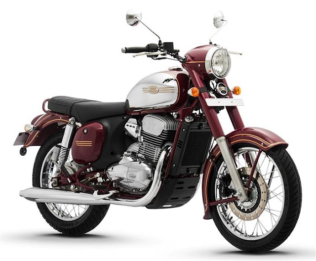 New Jawa 300 red color