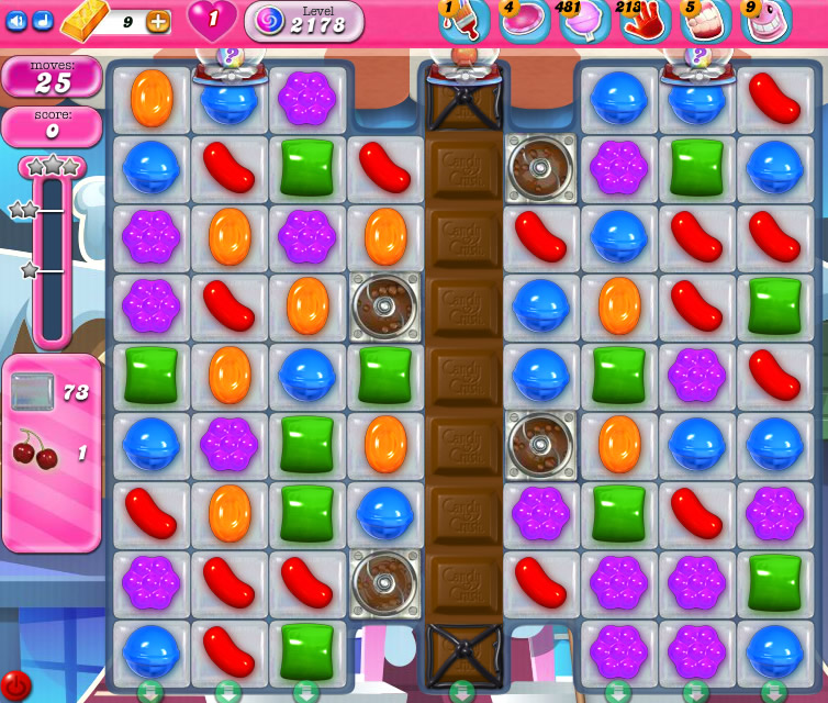 Candy Crush Saga level 2178