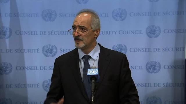 Siria denuncia uso de los DDHH para derrocar a gobiernos independientes