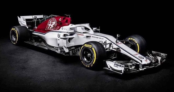 Alfa Romeo Sauber C37 Fórmula 1 2018