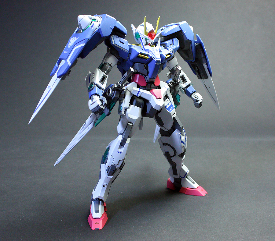 Tumacher Gunpla Inochi Mg Gundam 00 Raiser Review By Zgmfxg Already Released 6500 Yen