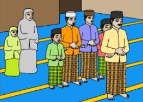TUNTUNAN SHALAT JAMA'AH DAN MUNFARID SERTA SOAL TEST FORMATIF LENGKAP DENGAN KUNCI JAWABAN