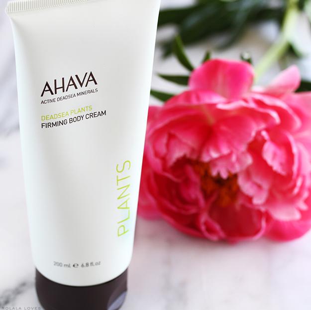AHAVA Dead Sea Plants Firming Body Cream, Ahava Review, Ahava Body Cream