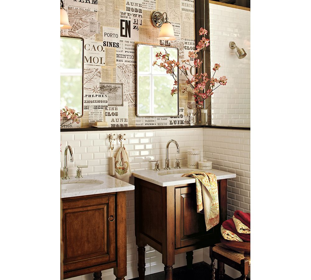 awesome pottery barn bathrooms designs | vintage home love: Guest Bathroom Project Inspiration
