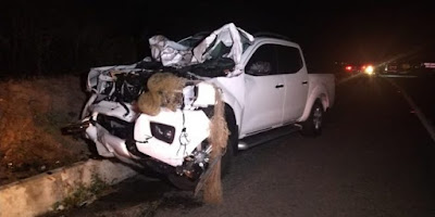 Acidente entre carroça e caminhonete deixa quatro mortos em Campina Grande