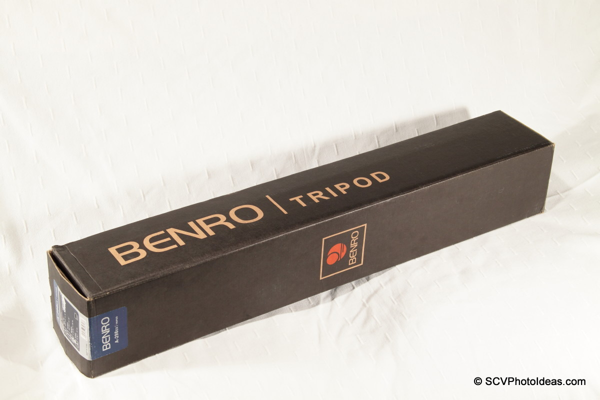 Benro A-298 EX retail box
