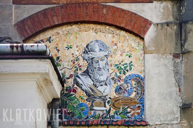 Nowy Sącz. Secesja. Mozaika.
