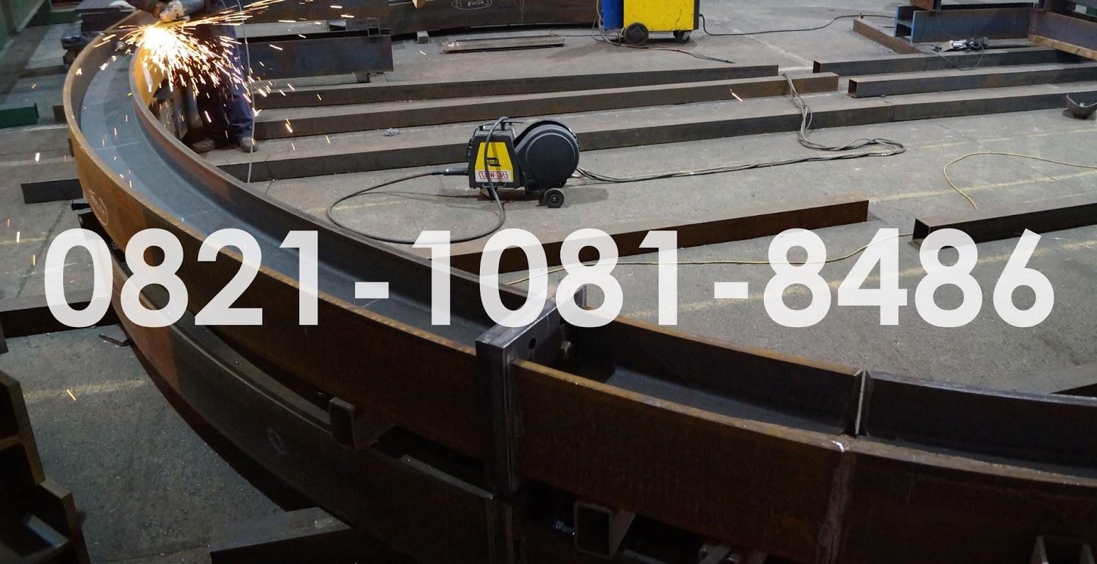 Jasa Bending H Beam Murah Roll Karet Kotak 2x2 Meja Kursi Interior Teknik Ranjang Tempat Tidur