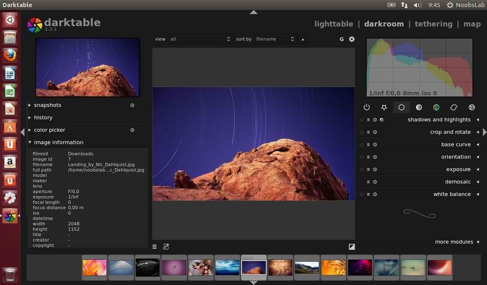 Darktable 1 2 1 for Ubuntu 13 04/12 10/12 04/Linux Mint - NoobsLab