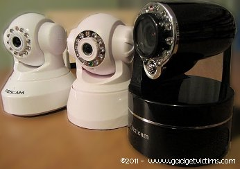 Dericam M801W: The Z in PTZ    - Gadget Victims