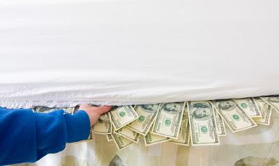 Crear tu propio colchón de dinero