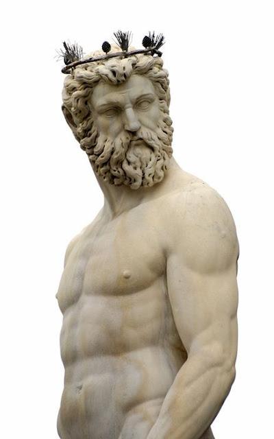 Poseidon God of the sea
