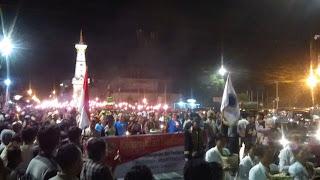 """MKAI Yogyakarta Menyampaikan Pesan """"Love For All Hatred For None"""" pada Acara Lampah Ratri"""