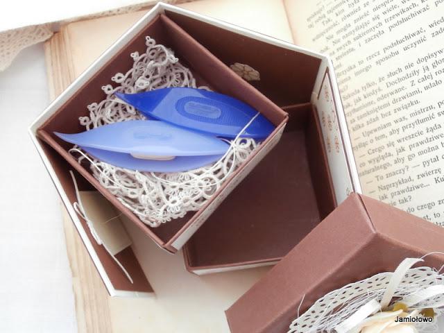 ozdobne pudełko -box -na drobiazgi