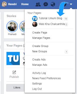 Bagaimana cara menambah admin pada fan page saya?