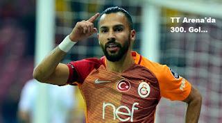 300. gol, akhisar belediyespor, galatasaray, türk telekom arena, yasin öztekin,