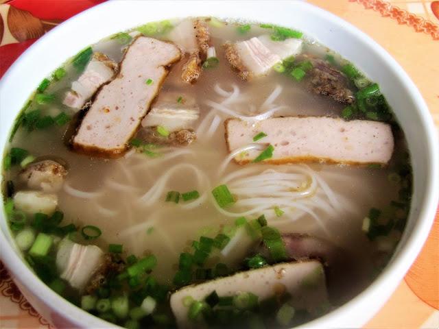 pork tofu pho ban gioc vietnam